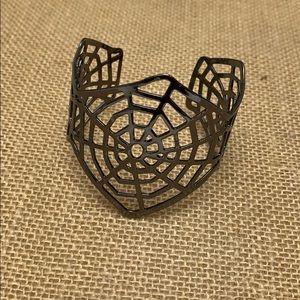 Jewelry - Spiderweb cuff bracelet